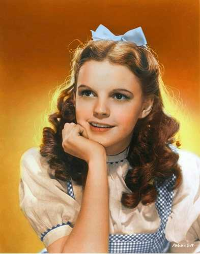 Dorothy in color by