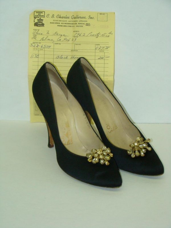 Jackie Kennedy Shoes: JUDY GARLAND COSTUMES, STAGE AND TV WARDROBE